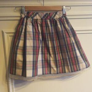 Crewcuts holiday skirt